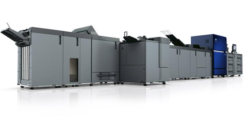 Tonerbasiertes Drucksystem für hochvolumige Printprodukte