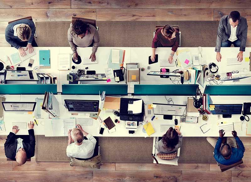 Der Büro-Arbeitsplatz bleibt klassisch