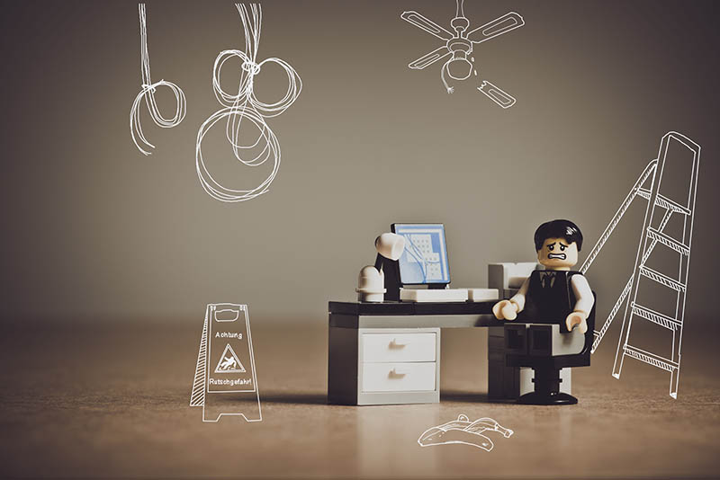 Wie unfallsicher ist Ihr Arbeitsplatz?