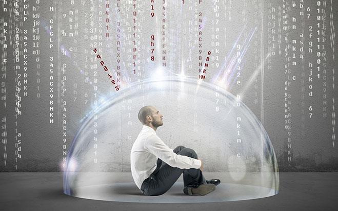 Datensicherheit – Jedem seine Daten am Future Workspace