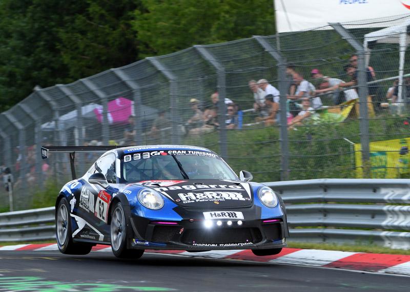 Nagarro sponsert Porsche-Team und erfährt 1. Platz