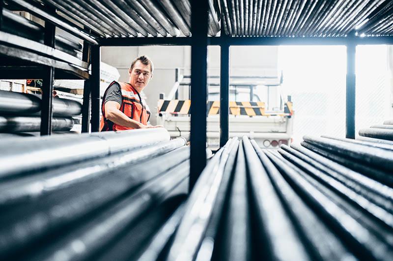 Digitalisierung in der Stahlzeit