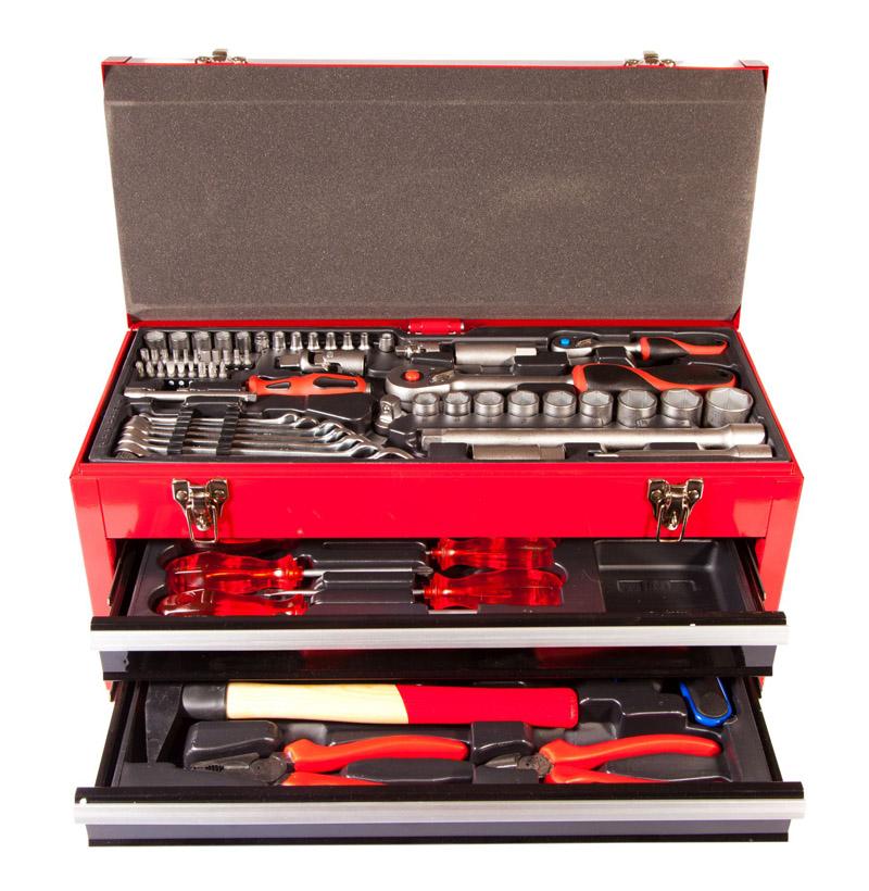 Werkzeugkoffer: Nur vollständig ausgestattet zum Ziel