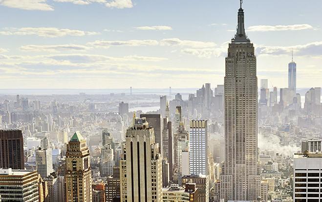 New Yorker Luftgeschäfte