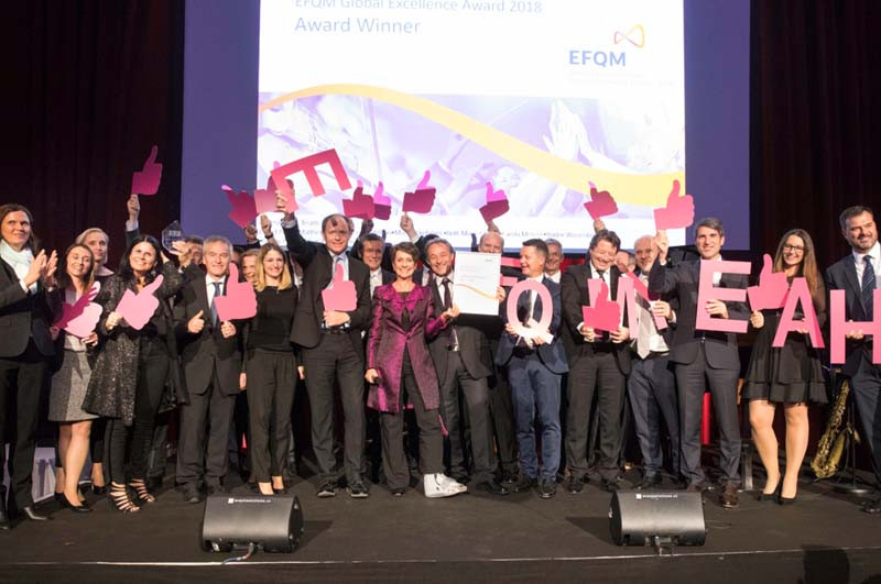 Infineon Austria gewinnt EFQM Global Excellence Award