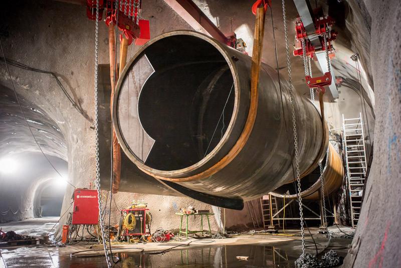 Speicherkraftwerkwerke: High-end Technik im Gebirge