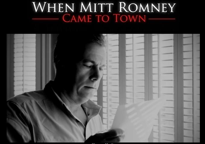 Mitt Romney in der Stadt